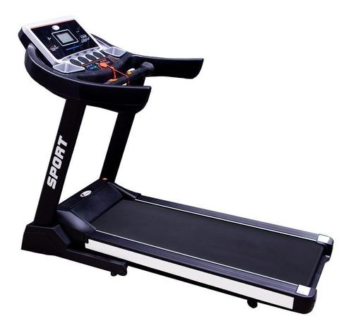 Cinta de correr eléctrica Centurfit MKZ-CAMS600E 110V negro