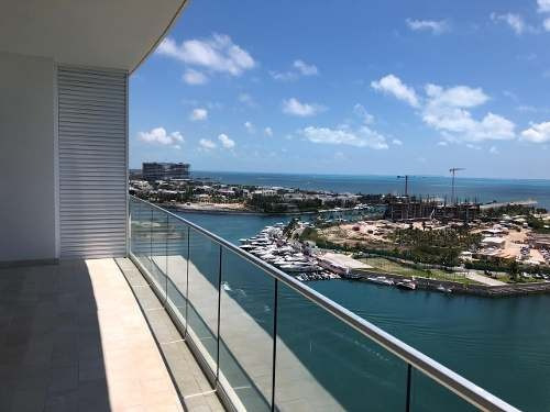 Departamento Nuevo Puerto Cancun Aria Piso Alto