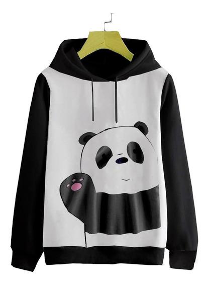 Buso Buzo Hoodie Oso Panda