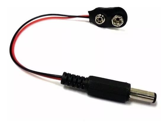 Conector Com Plug Pra Bateria 9v Volts Arduino Pic Sao Paulo