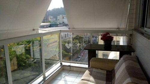 Apartamento À Venda, 102 M² Por R$ 850.000,00 - Icaraí - Niterói/rj - Ap35185