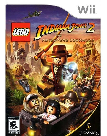 Lego Indiana Jones 2 Wii | Midia Física Original