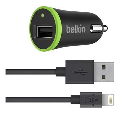Cargador Belkin De Carro Para iPhone/iPad Mod. F8j121bt04blk