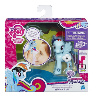 My Little Pony Pinkie Rainbow Dash Rarity Escenas Mágicas