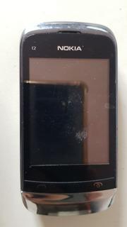 Celular Nokia C2-06 Sucata Leia A Descrição Ref: R342