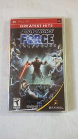 Star Wars The Force Unleashed Psp Original Completo Completo