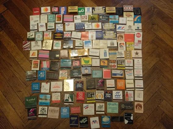 Lote 136 Cajas Y Carteritas De Fósforos Antiguas - Colección
