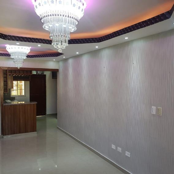 Hermoso Apartamento Ubicado En El Residencial Resparto