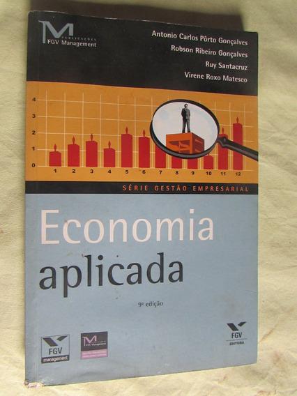 Economia Aplicada Antonio Carlos Pôrto Gonçalvs Série Gestão