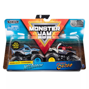 Monster Jam 2019 Megalodon Vs Pirate 1/64 - Versão Americana