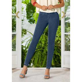 Look Moderno Pantalon Dama Entubado Algodon Fresco 1353358