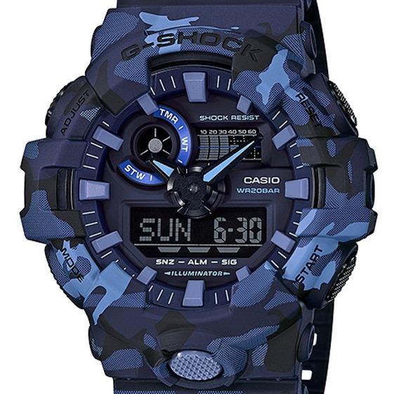Relógio Casio Masculino G-shock Camuflado Ga-700cm-2adr