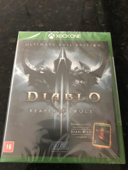 Jogo Xbox One Diablo 3 Reader Of Souls Original Lacrado