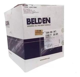 Cable Utp Belden Categoría 5e 100% Cobre 305 Metros