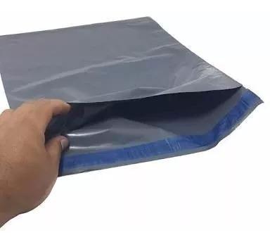 Embalagemplástico Segurança Cinza Sedex 26x36 26 X 36 1000 U