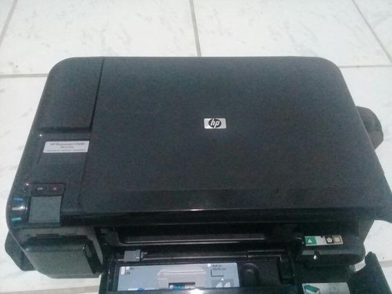 Impressora Hp Tinta Photosmart C4480 Leia Descrição