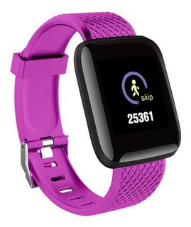 Reloj Inteligente D13 Con Monitor Cardíaco Para Ejercicio