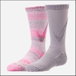 Nike Swoosh Crew Socks - 2 Pack