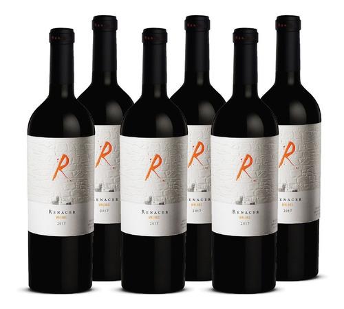Vino Renacer Malbec Icono 6 Botellas