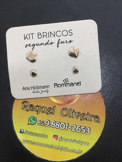 Kit Brinco Rommanel Formato Coração