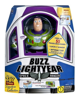 Juguete Toy Story Buzz Lightyear 55 Frases Colección Disney