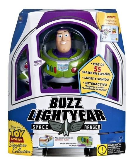 Juguete Toy Story Buzz Lightyear 55 Frases Colección Disney