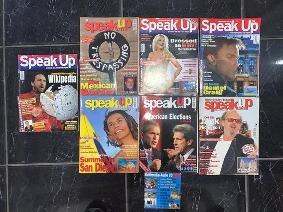 Revistas Speak Up - 7 Edições + Cd