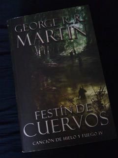 Libro Festín De Cuervos - (canción De Hielo Y Fuego)