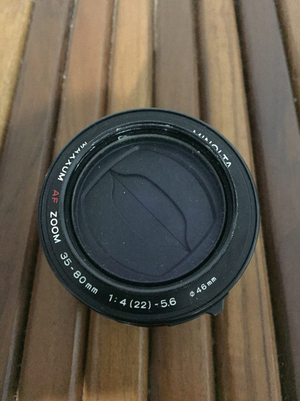 Lente Minolta Maxxum Af Zoom 35-80mm 1:4 (22) 5.6 - 46mm