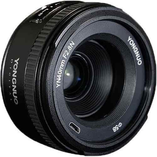 Lente Yongnuo Yn 40mm F2.8 Nikon Af Mf D610 D750 D7200