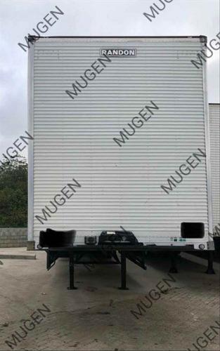 Carreta Baú 2016 Randon 30 Palet  Mugen Caminhões