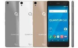 Smartphone Quantum Go Cinza