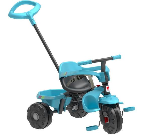 Triciclo Infantil Bandeirante Smart Plus - 2 Em 1 - Pedal E