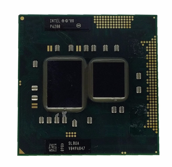 Processador Intel Pentium Dual-core Mobile P6200 Slbua