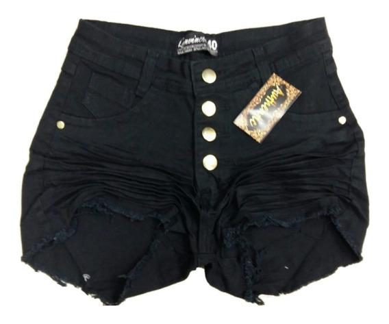 Roupas Femininas Shorts Jeans Plus Size Com Lycra 34 Ao 52