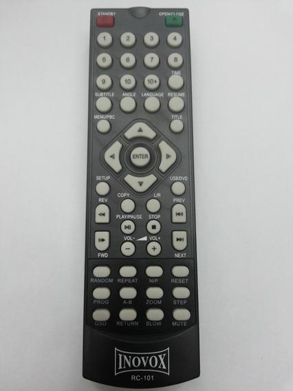 Controle Remoto Dvd Inovox Rc-101 Original