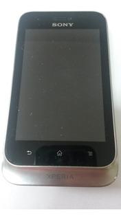 Celular Carcaça Sony Xperia St21i2 Py7pm-0131 C/ Defeito