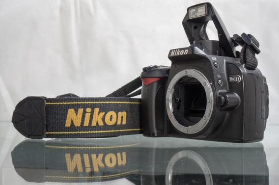 Câmera Nikon D40 + 3 Baterias + 2 Carregadores