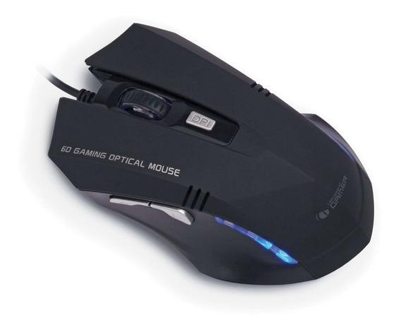 Mouse Tiger Gamer Leadership 6868 - 1000 A 3000 Dpi 6 Botões
