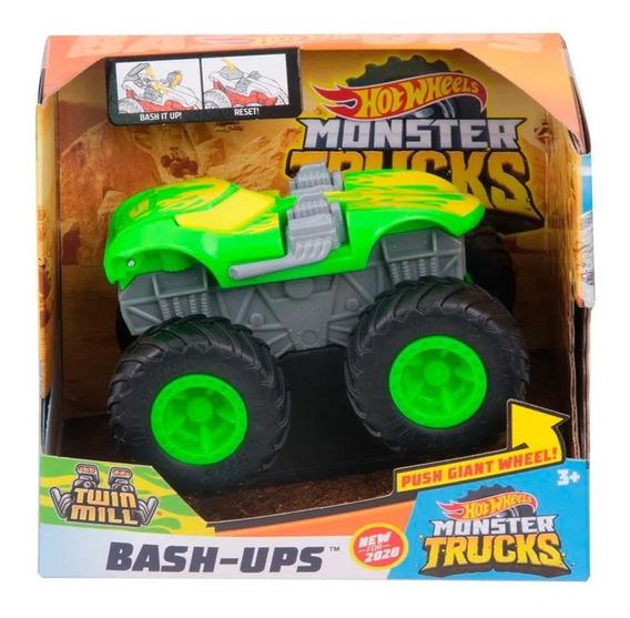 Hot Whells Monster Truck Bash-ups - Twin Mill - Mattel