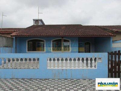 Casa Com 3 Dorms, Vila Anhanguera, Mongaguá - R$ 320 Mil, Cod: 20007 - A20007