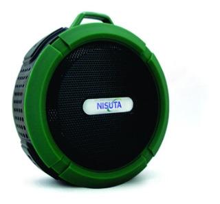 Parlante Bluetooth Resiste Al Agua Ns-pa62b - Nisuta