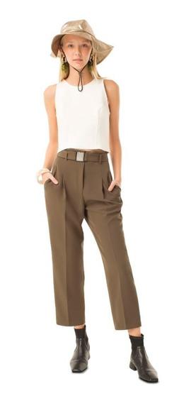 Pantalon Las Pepas Tonya Norbi Verde Militar- Beige I20