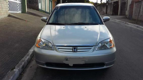 Honda Civic Lx 2003 1.7 - Raridade Estado De Novo! - 3º Dono