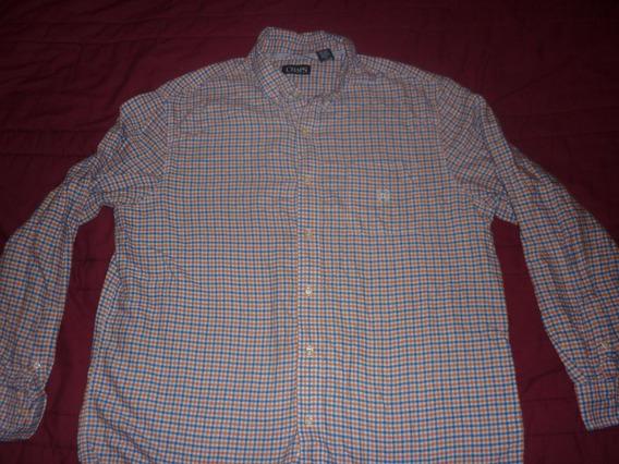 E Camisa Chaps By Ralph Lauren Cuadrille Art 5301