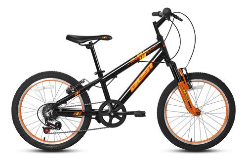 Imagen 1 de 1 de Bicicleta Best De Niño Duke Aro 20 Gris/naranja