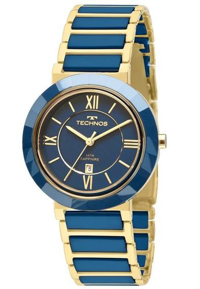 Relógio Technos Feminino Ceramic Sapphire 2015bv/5a