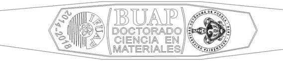 Anillo Graduacion Doctorado Cienciamateriales Buap 10k