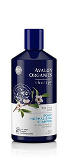 Avalon Organics Tea Tree Mint Scalp Champú Normalizante, 14