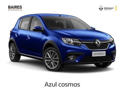 Renault Sandero 0k 2021 Anticipo Financiado Cuotas